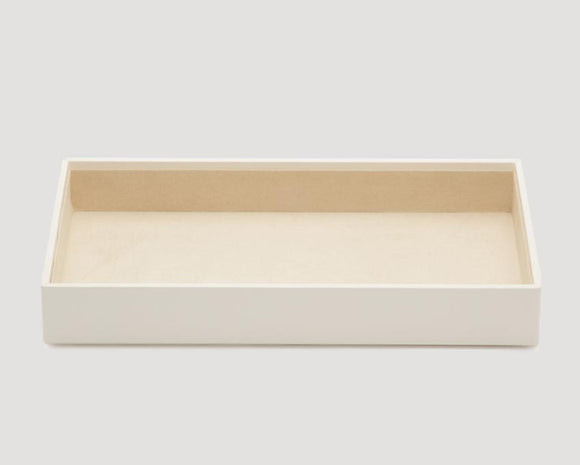 "WOLF Vault 2"" Deep Tray Ivory Leather Finish 435053"