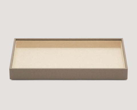 "WOLF Vault 1.5"" Standard Tray Gray Leather 435165"