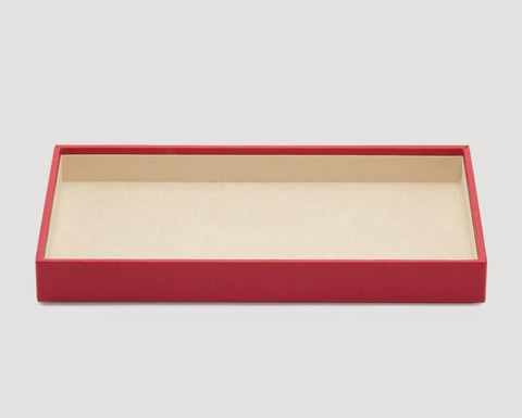 "WOLF Vault 1.5"" Standard Tray Red Leather 435172"