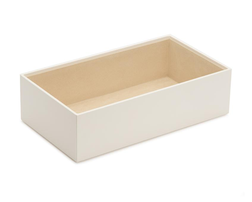 "WOLF Vault 4"" Deep Tray Ivory Leather Finish 435253"