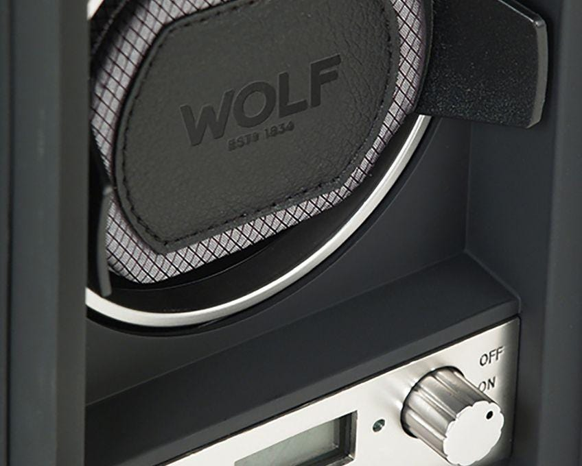 WOLF 454011 Module 4.1 Black Watch Winder