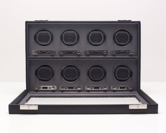 WOLF 456902 Viceroy Eight Piece Watch Winder Black