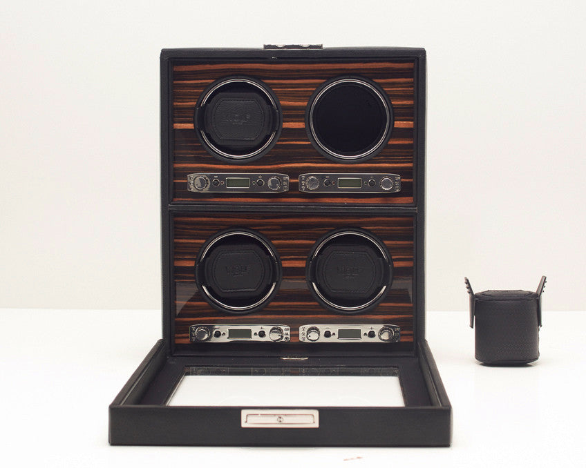 WOLF 459156 Roadster Four Piece Watch Winder