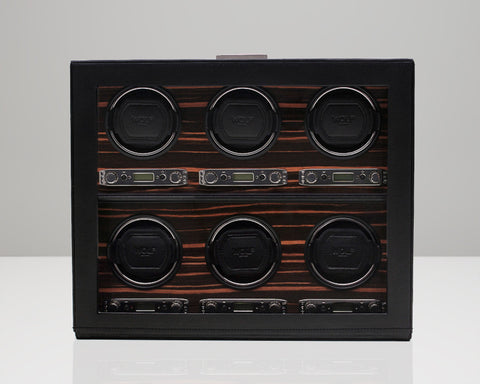 WOLF 459256 Roadster Six Piece Watch Winder