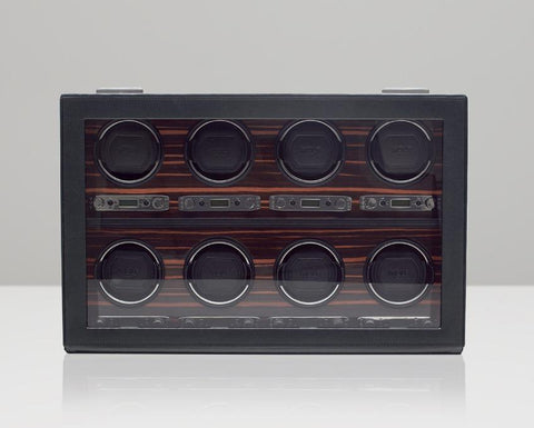 WOLF 459356 Roadster Luxury Eight Piece Watch Winder