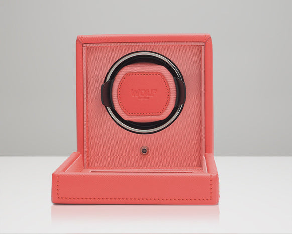Wolf Designs 461142 Coral Cub Watch Winder With Cover