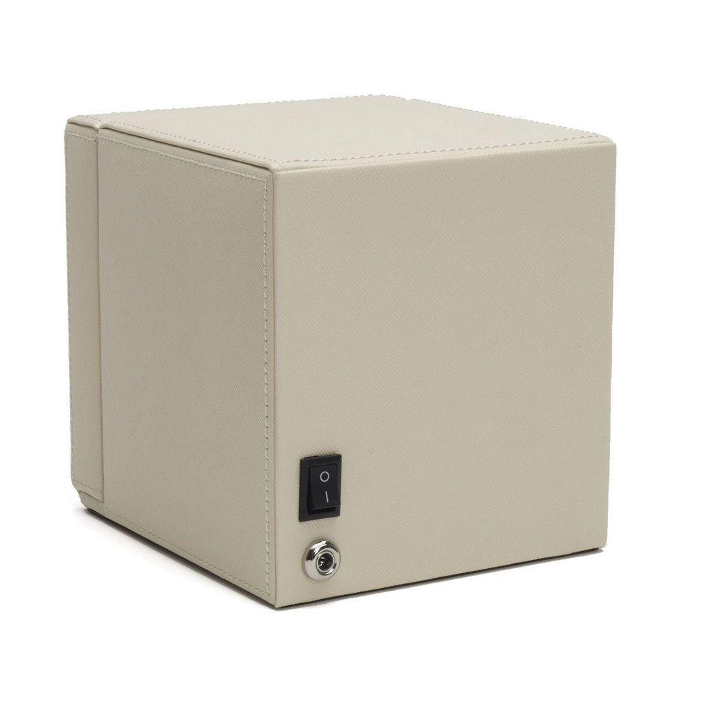 WOLF 461153 Cream Cub Watch Winder With Cover
