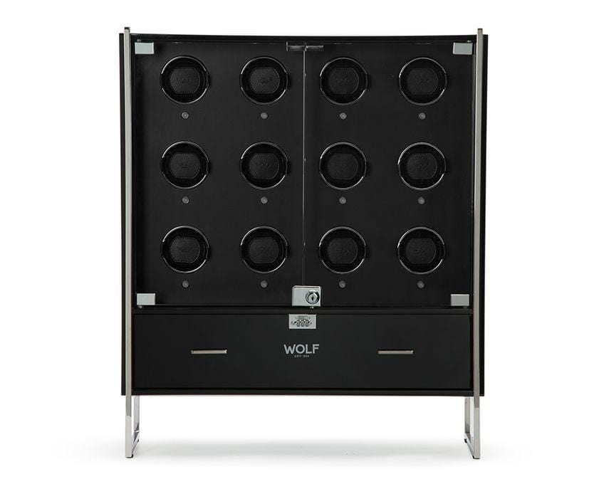 WOLF 1834 Regent 12 Piece Cabinet Watch Winder 468070