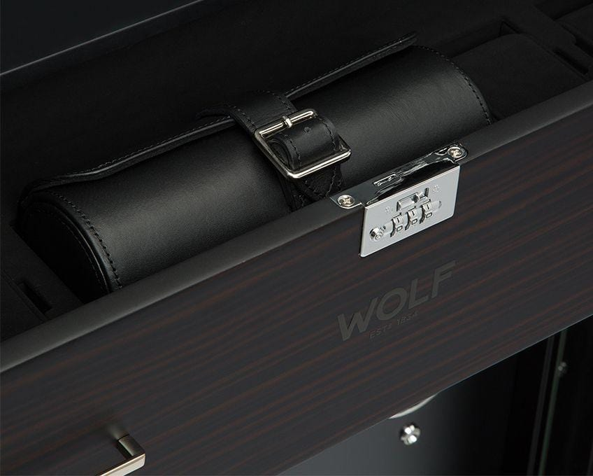WOLF 1834 Baron 24 Piece Cabinet Watch Winder 468140