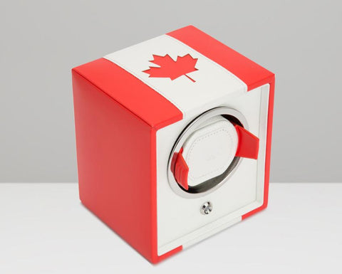 WOLF Navigator Canadian Flag Cub Single Watch Winder 471204