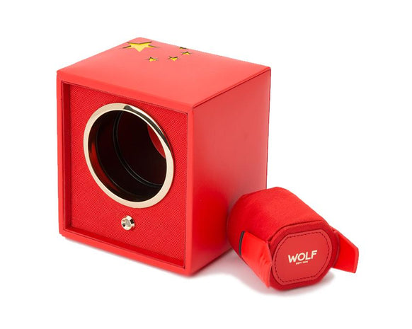 WOLF Navigator Chinese Flag Cub Single Watch Winder 471304