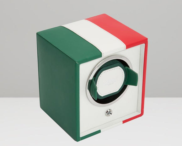 WOLF Navigator Mexican Flag Cub Single Watch Winder 471704