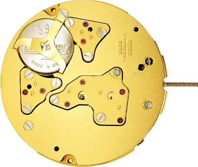 RONDA Startech 5050.B Movement Gold-Plated Swiss Made