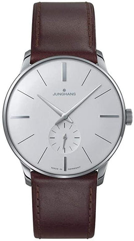 Junghans Meister Hand-Winding Silver DIal Men's Watch 027/3200.00