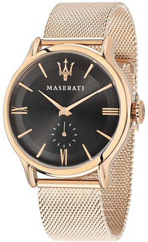Maserati Epoca 42mm Rose Gold Mesh Strap Men's Watch R8853118004