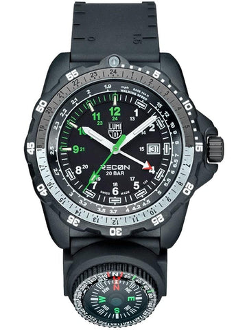 Luminox RECON Nav SPC World-Time Compass Black Strap Men's Watch XL.8832.MI.F