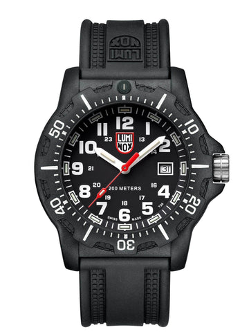 Luminox BlackOps 8881 Carbon Case Black Rubber Strap Men's Watch XL.8881