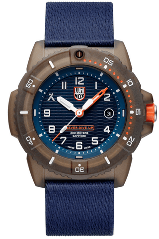 Luminox #TIDE Recycled Ocean Material Bear Grylls Special Edition Men's Watch XB.3703
