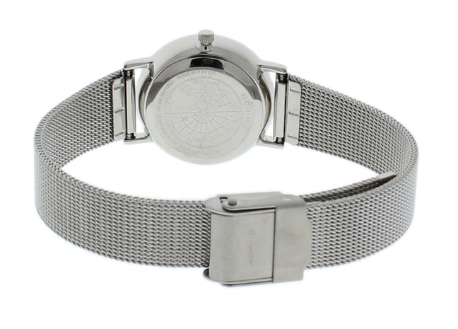 BERING 13426-000 Women's Watch Slim Stainless Steel Case Mesh Band