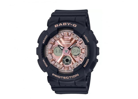 G-Shock Baby-G Analog-Digital Pink Dial Women's Watch BA130-1A4
