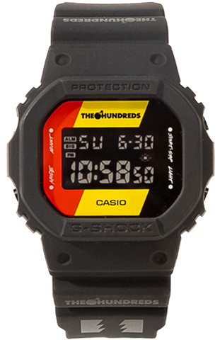 G-Shock Digital Sport The Hundreds Limited Edition Black Unisex Watch DW5600HDR-1