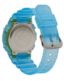 G-Shock Digital Sport Green-Blue Semi-Transparent Unisex Watch DW5600LS-2