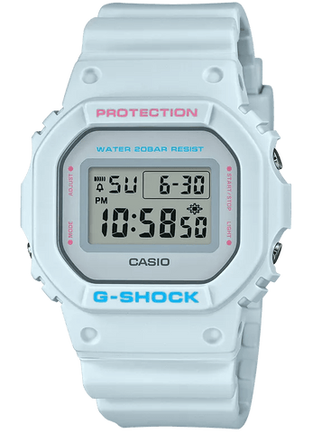 G-Shock Digital Sport Light Blue Unisex Watch DW5600SC-8