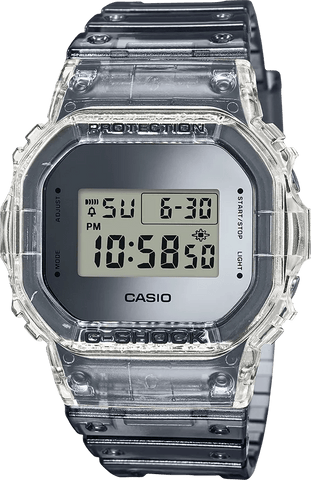 G-Shock Digital Sport Clear Semi-Transparent Unisex Watch DW5600SK-1