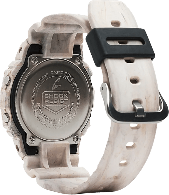 G-Shock Digital Utility Wave Marble Limited Edition Unisex Watch DW5600WM-5