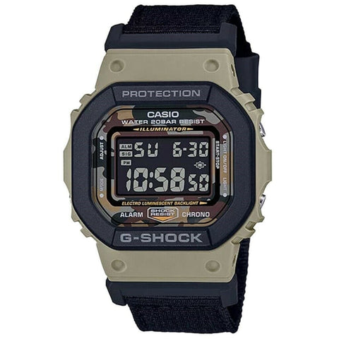 G-Shock Digital Camo Dial Limited Edition Box Set Men's Watch DW5610SUS-5