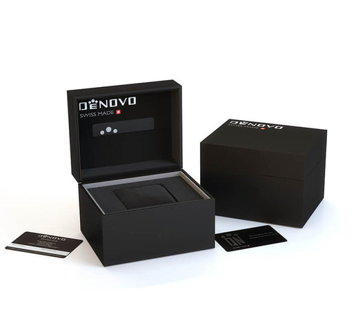 DeNovo Swiss Made Watches Packaging Box