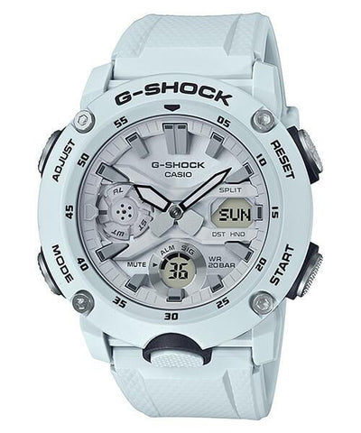 G-Shock Analog-Digital Carbon-Resin Case Grey Men's Watch GA2000S-7A