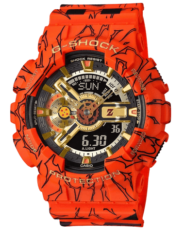 G-Shock Analog-Digital Dragon Ball Z Limited Edition Men's Watch GA110JDB-1A4