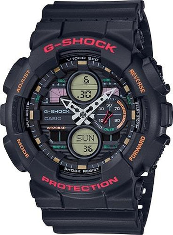 G-Shock Analog-Digital Black Men's Watch GA140-1A4