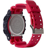 G-Shock Analog-Digital Red Rubber Strap Men's Watch GA140-4A