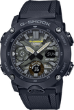 G-Shock Analog-Digital Carbon-Resin Case Camo Dial Men's Watch GA2000SU-1A