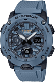 G-Shock Analog-Digital Carbon-Resin Case Blue Camo Dial Men's Watch GA2000SU-2A