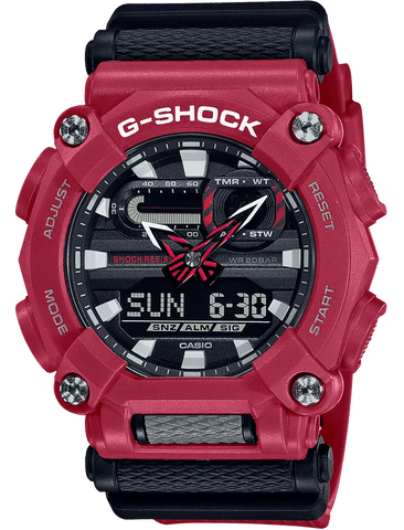 G-Shock Analog-Digital Sport Red-Black Men's Watch GA900-4A