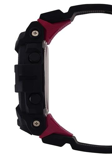 G-Shock Digital Fitness Black-Red Bluetooth Connection Men's Watch GBD800-1