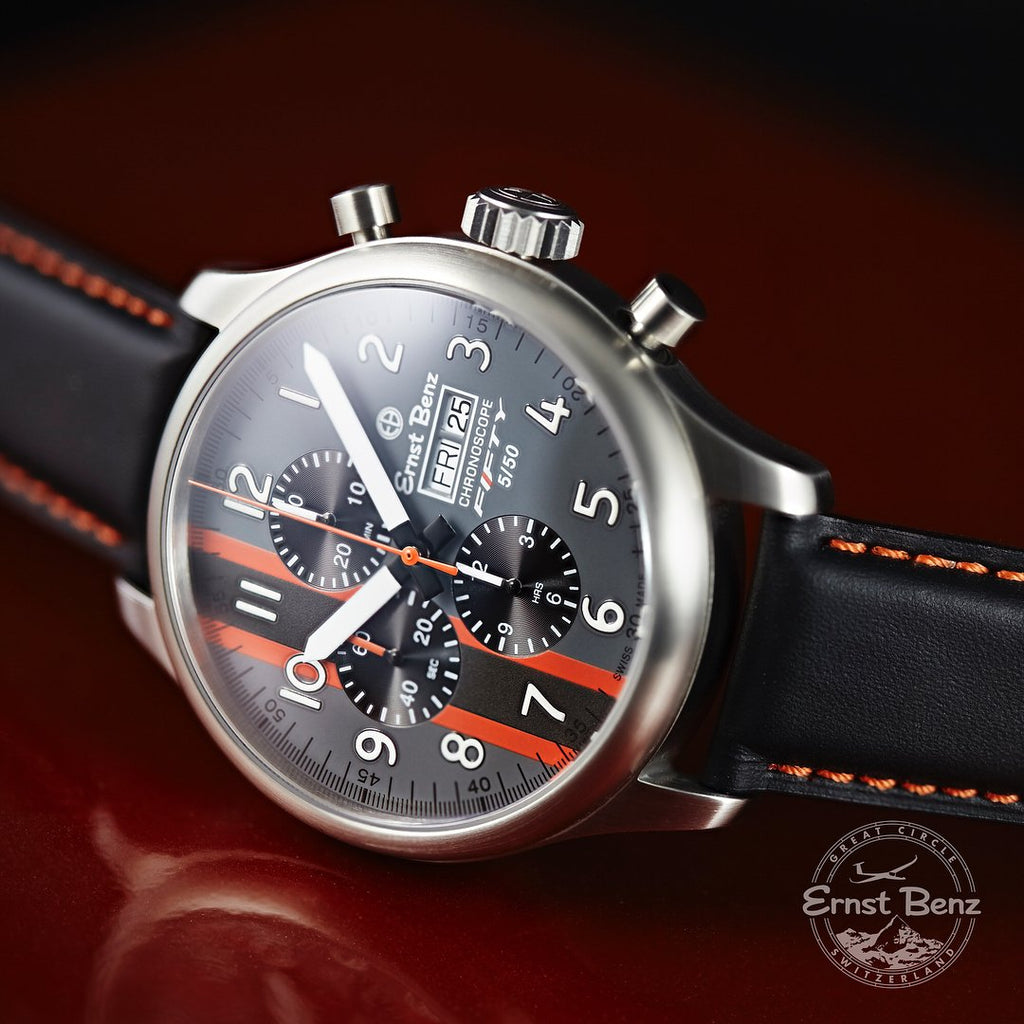 Ernst Benz Camaro FIFTY Limited Edition Chronoscope Men's Watch GC10100/CM50