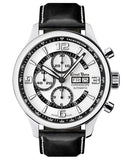 Ernst Benz GC10125 Mens Watch Chronoscope Contemporary 47mm White Dial