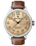 Ernst Benz Chronosport Copper Dial Green Numerals 47mm Swiss Automatic Men's Watch GC10213