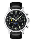 Ernst Benz Chronolunar 44mm Swiss Automatic GMT Moonphase Chronograph Men's Watch GC40311