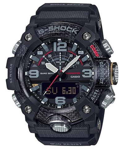 G-Shock Mudmaster Carbon Core Guard Black Men's Watch GGB100-1A