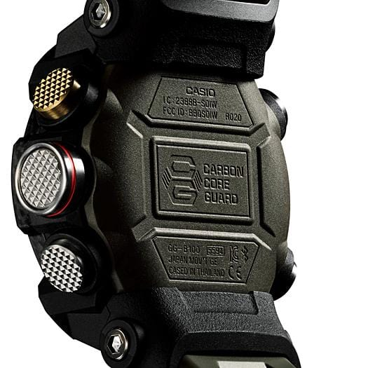 G-Shock Mudmaster Carbon Core Guard Green Men's Watch GGB100-1A3