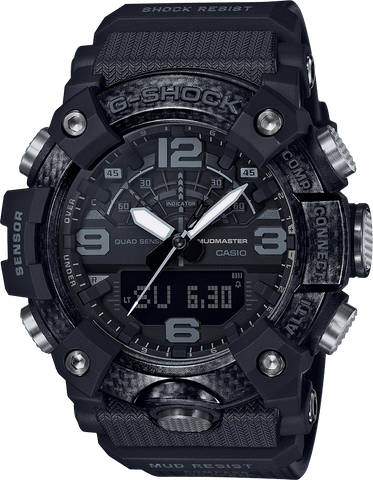 G-Shock Mudmaster Carbon Core Guard Black Men's Watch GGB100-1B