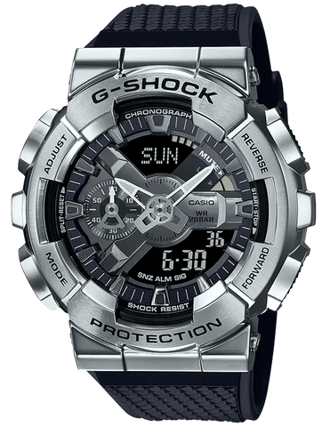 G-Shock Analog-Digital Steel Black Strap Men's Watch GM110-1A