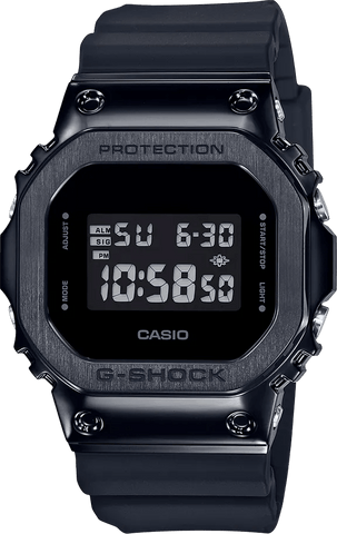 G-Shock Digital All Black Quartz Men's Watch GM5600B-1
