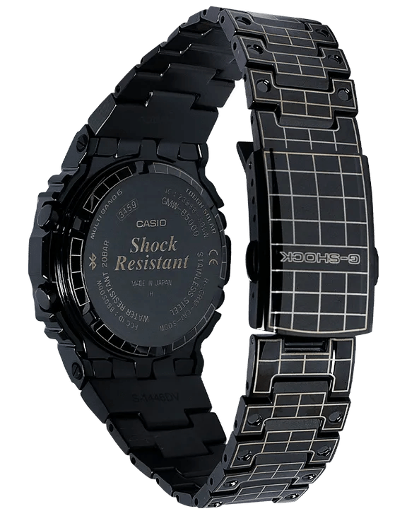 G-Shock Digital Limited Edition Grid Tunnel Pattern Solar Men's Watch GMWB5000CS-1