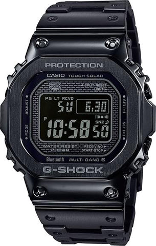 G-Shock Digital Black All-Metal Solar Men's Watch GMWB5000GD-1